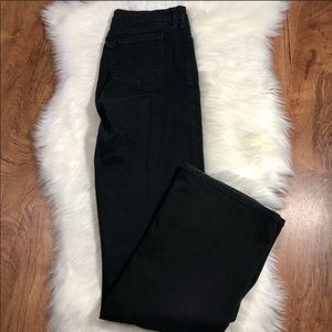 NYDJ black wash jeans